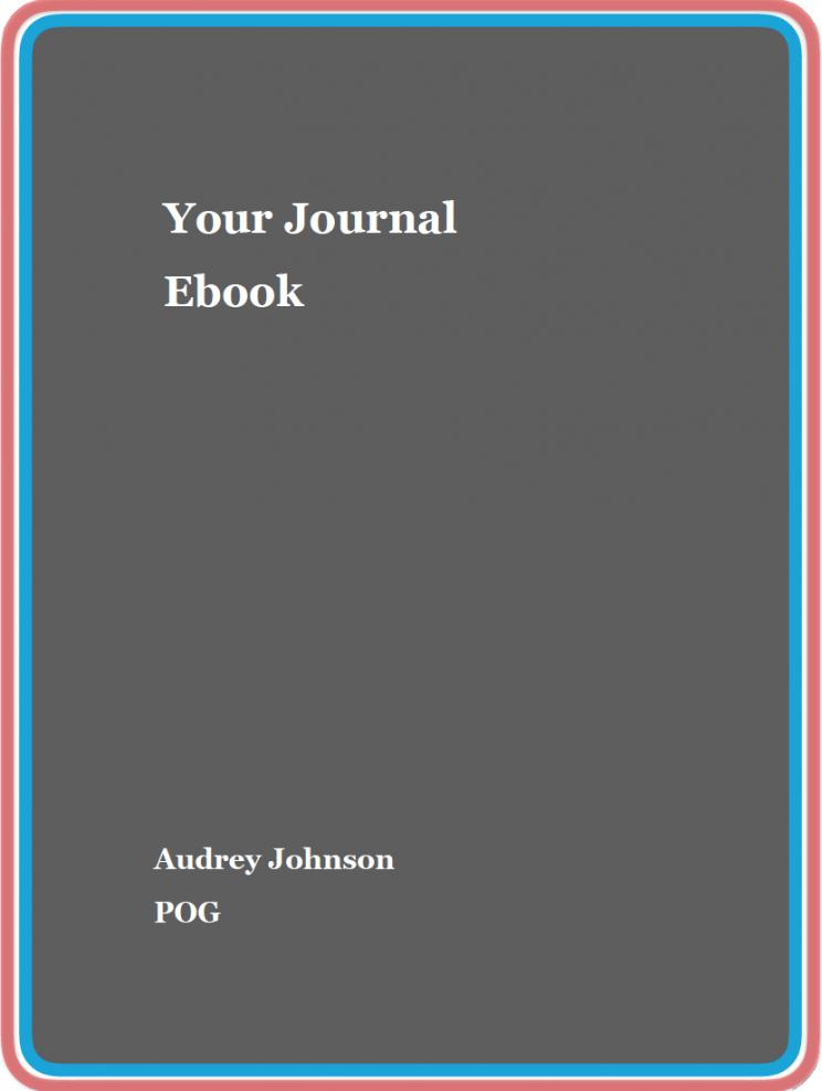 Image Ebook Your Journal POG